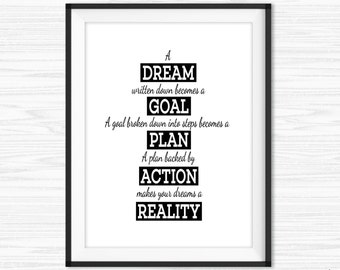 Lovely Office Wall Art Work Hard Quotes Motivational Wall Decor Cubicle Decor  Success Quotes Printable Inspirational Quote