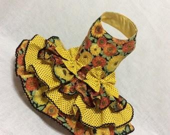 Sunflowers Dog Dress