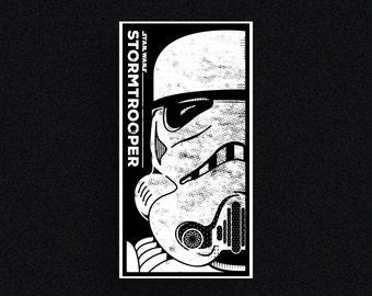 Star Wars – Stormtrooper | Screen Printed Poster