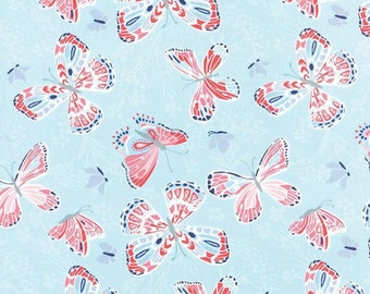 MODA - Aria Butterfly - 27230 12 - Kate Spain  - Butterflies - Sky - Blue