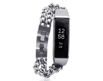 Pre-Order - Fitbit Alta Bracelet - Silver - Stainless steel - ships on the 15th of August 2016