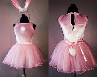 PINK BUNNY RABBIT freeshipping