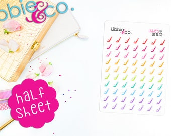 Libbie's Littles Hockey Stick Stickers! Perfect for Erin Condren, Happy, Mambi, Plum Paper and ...