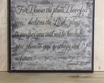 As for me and my house wood sign scripture Christian wall