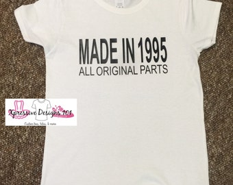Made in 1995 tee