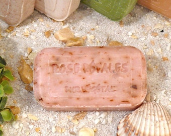 Olive oil soap ROSE