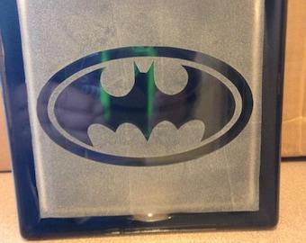 batman wing glass block