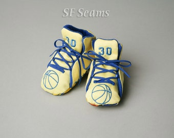 Golden State Warriors Baby Basketball Shoes