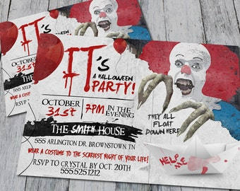 Halloween Party Invitation (Digital)