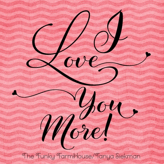 SVG, DXF & PNG - I love you more!