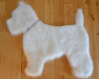 Westie - West Highland Terrier rug