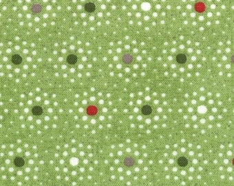 Item # 30297 13 Moda Blitzen Collection by Basic Grey. 1/2 Yard Cuts Christmas Fabric.