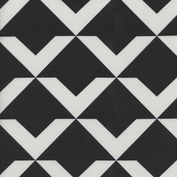 Changing Pad Cover >> Black and White Up and Up in Black >> Made-to-Order >> black white changing pad, arrow changing pad, modern triangle