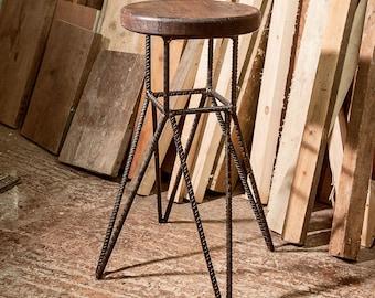 Rebar bar stool