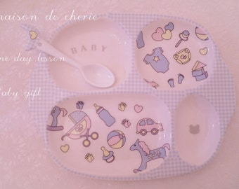 personalized Baby Plate porcelain