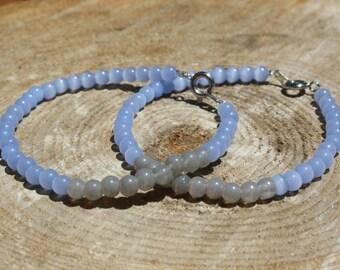 Handmade Color Blocked Beaded Bracelet