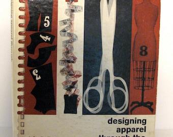 Vintage Sewing Book Designing Apparel Through Flat Pattern