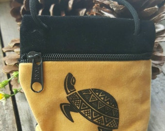 Velvet Zipper Pouches. Four Imprinted Designs to choose from. Crystal Pouch.