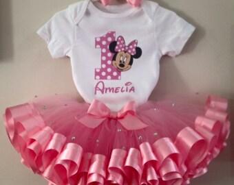 Minnie tutu outfit