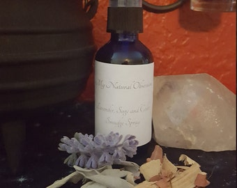 Lavender Sage and Cedar Smudge Spray