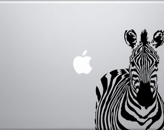 Zebra decal for laptops