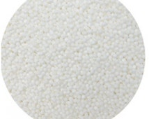 White Non-Pareils 16 oz bag - 1 lb CK Products