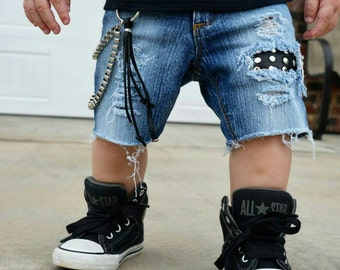 Baby Distressed Jeans, Kids Shorts, Kids Jeans, Toddler Jeans, Baby Shorts, Boys shorts, Girls Shorts, Boys Ripped Shorts,  Boys Jeans,