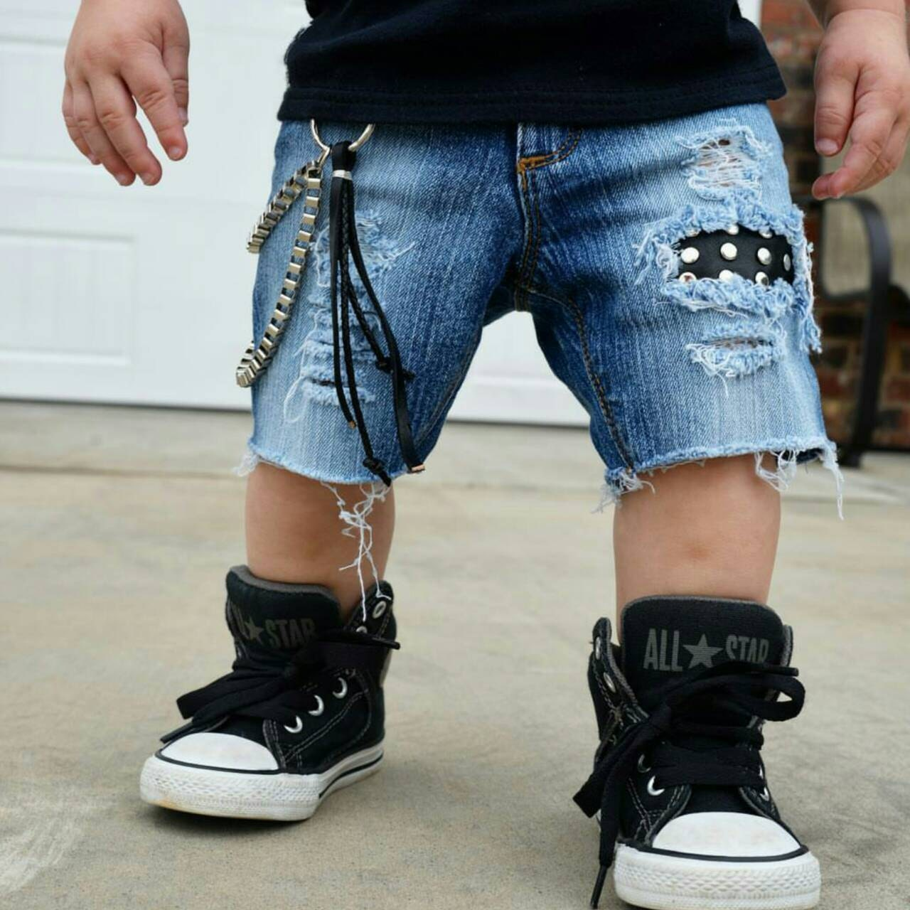 Baby Distressed Jeans Kids Shorts Kids Jeans Toddler Jeans