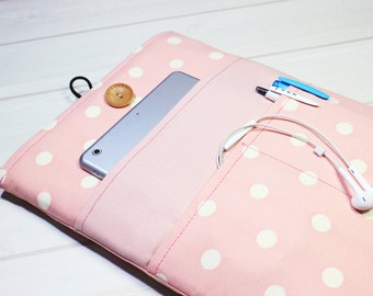 Macbook Air sleeve, 13 inch laptop case, Macbook Pro case, pink laptop case, laptop sleeve, Macbook case, Lenovo Yoga case, laptop case
