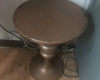 Ecletic Bronze Round Table