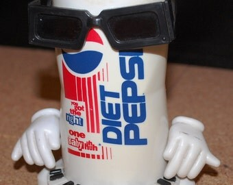 "1990 ""Ray Charles"" Diet Coke Can Machine"