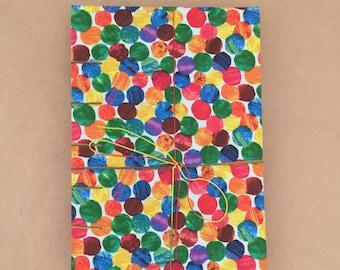 Handmade coptic stitch blank sketchbook