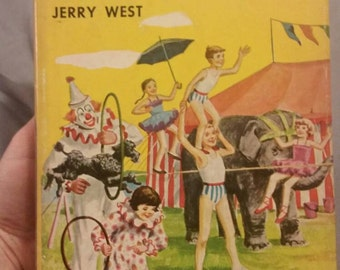 "The Happy Hollisters ""At Circus Island"" by Jerry West"