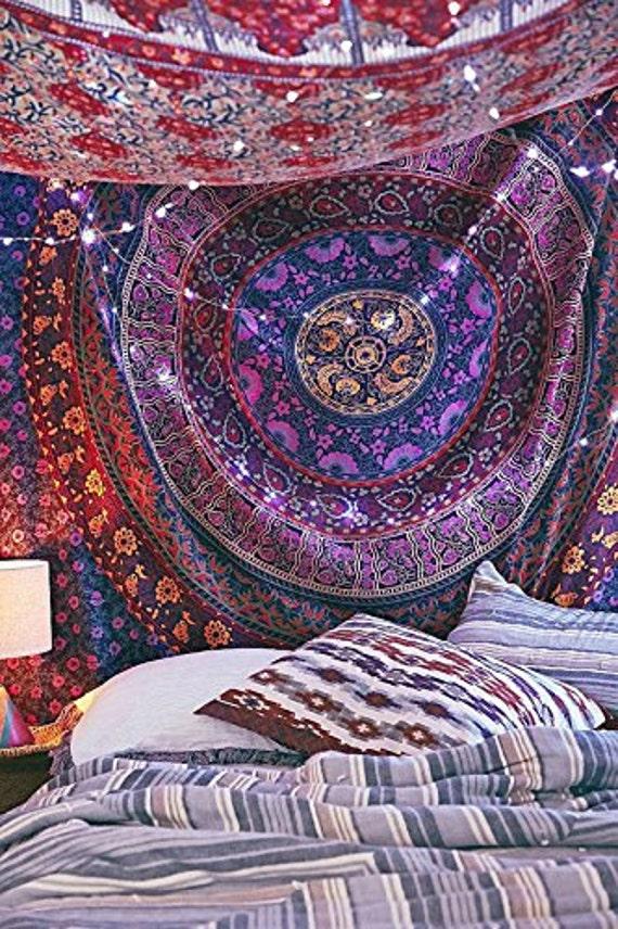 Indian Wall Hanging Tapestry Mandala