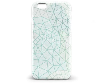 1411 // Blue and Green Phone Case iPhone 5 5S, iPhone 6 6S, Samsung Galaxy S5, Samsung Galaxy S6, Samsung Galaxy S7 Edge Plus