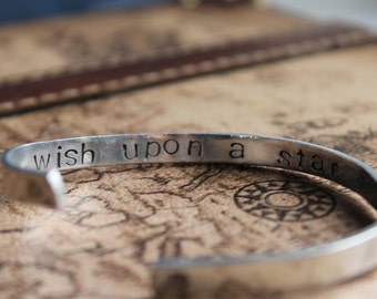 Wish Upon a Star Hand Stamped Bracelet