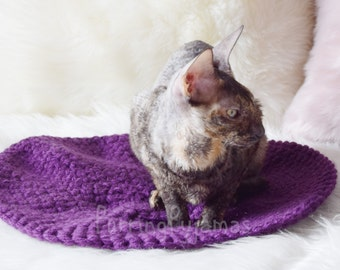 Cat bed, cat cave, pet bed, pet furniture, crochet cat bed, bed for cat, crochet bed for sphynx, bed for sphynx, crochet pet bed, sphynx bed