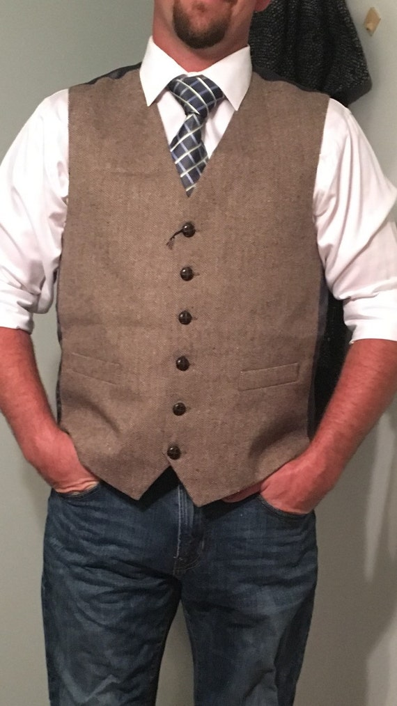 Find great deals on eBay for Mens Tweed Vest in Men's Vest and Clothing. Shop with confidence. Find great deals on eBay for Mens Tweed Vest in Men's Vest and Clothing. LUCKY BRAND TWEED HERRINGBONE BROWN WOOL COTTON VEST MENS L LINED. $ 0 bids. USED IN VERY GOOD CONDITION, NO PROBLEMS SEEN. WOOL FRONT, COTTON BACK AND LINING. 3 .