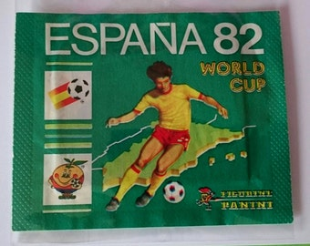 Espana 82 Figurine Panini Unopened Sticker pack,  Made in Italy/ Spain World Cup 1982/ Soccer/ Football