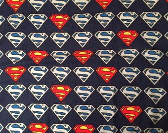 Superman Blanket - Child Size or Baby Blanket - Free Personalization - DC Superhero Blanket