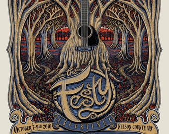 2016 Festy Experience Poster