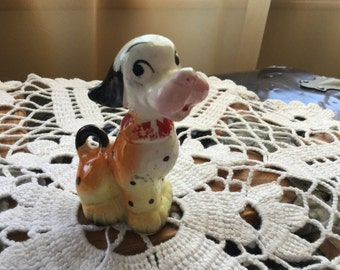 Vintage Little Dog Figurine. Very Whimsical and makes you smile!