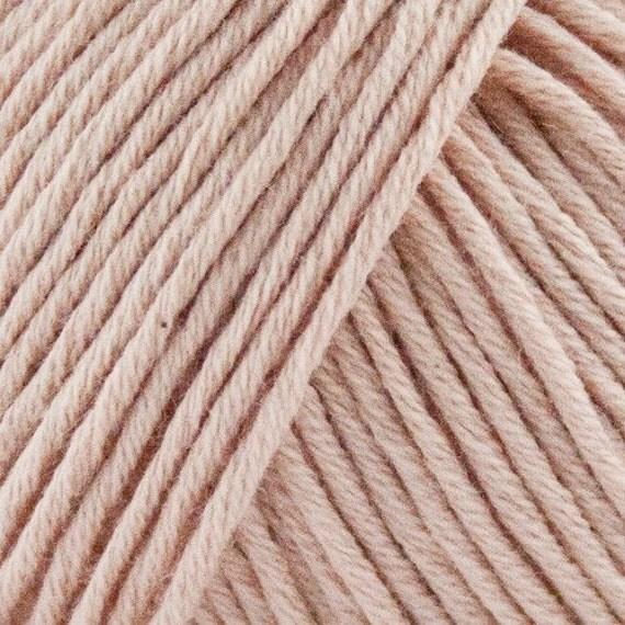 STRIKDET Organic Cotton Nude Peach / Økologisk Bomuld - Nude Peach