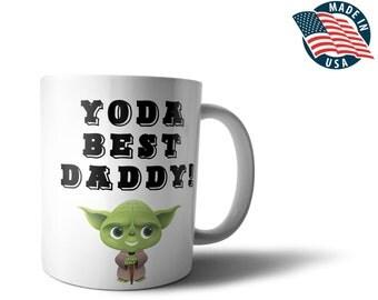 Yoda Best Daddy Mug - Coffee Tea 11oz Cup - Unique Gifts For Men