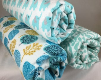 Clearance Sale! Organic Serenity Swaddles; Organic Flannel; Great Shower Gift;