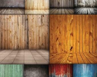 Wood Backdrop , Rustic wood backdrop , Indoor photoshoot , Wood background , Digital Backdrop , Newborn backdrop Buy 2 Get 1 FREE