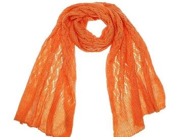 scarves, shawls knitted, openwork scarf