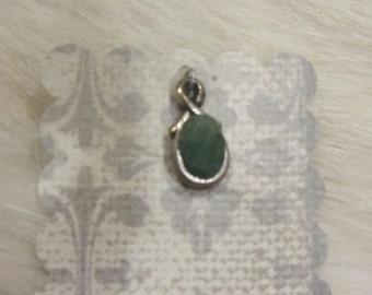 Emerald Pendant/Charm