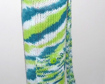 Knitted Cotton-blend Yoga Mat Bag