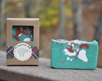 Christmas Tree Bar Soap